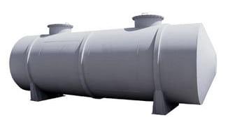 Резервуар РВС, емкость вертикальная стальная
