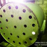 Бак из нержавеющей стали с отверстием под установку