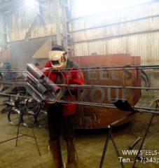 Производство свай и каркасов свай