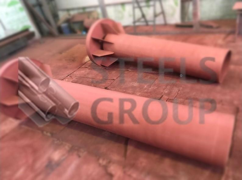 Сальники набивные для вентиляционной шахты